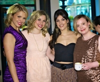 From Left to Right: Ali Liebert, Paige McCulloch, Paula Giroday & Michelle Ouellet