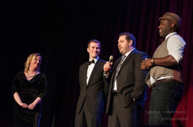 Director Michelle Ouellet, Producer Andrew Burke, Writer/Producer Nicholas Carella & Producer Nicholas Simon