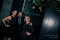 The Sociable Gang from L to R: Ali Liebert, Nicholas Carella, Michelle Ouellet