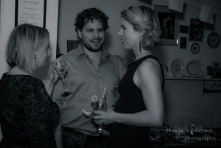 From L to R: Michelle Ouellet, Lawrence & Holloman Director Matthew Kowalchuck & Ali Liebert