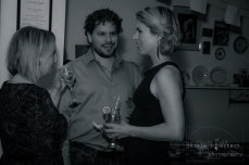 From L to R: Michelle Ouellet, Lawrence & Holloman Director Matthew Kowalchuck & Ali Liebert