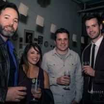 DP/Producer Dan Dumouchel, Nicky Garza, Trevor Wide & Joel Sturrock
